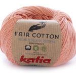 Fair cotton color 28 naranja salmón