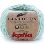 Fair cotton color 29 verde blanquecino