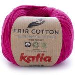 Fair cotton color 32 rojo frambuesa