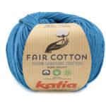 Fair cotton color 38 azul verdoso