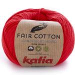 Fair Cotton color 4 rojo