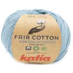 Fair cotton color 41 azul grisáceo