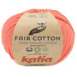 Fair cotton color 44 naranja salmón