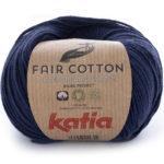 Fair cotton color 5 azul oscuro