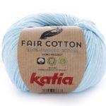 Fair cotton color 8 celeste claro