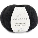 Mohair cotton negro col 82