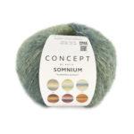 Somnium Concept by Katia color 302 color azul verdoso- marrón