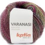 Varanasi 303 rosa-azul-ocre